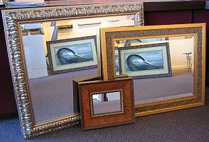 unique custom frames military shadow boxes custom framed mirrors novato ca marin county. Black Bedroom Furniture Sets. Home Design Ideas