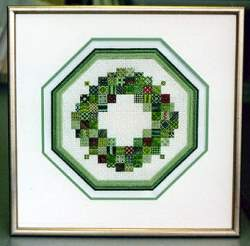 We offer stretching / blocking and custom framing for needlepoint.