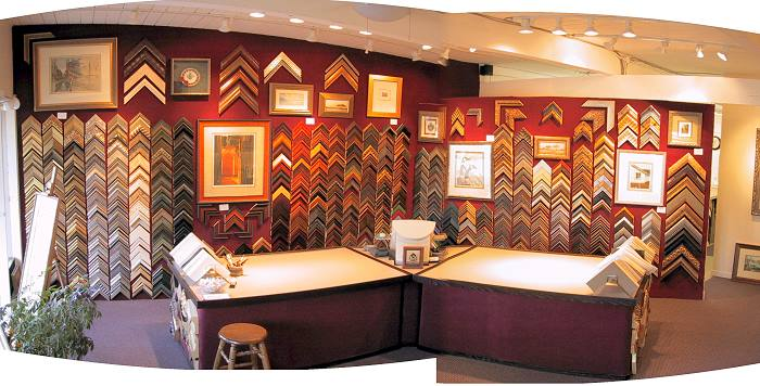 our custom matting and framing shop is located in downtown novato ca