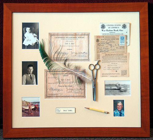Custom matting and unique picture frames by Rousseau\'s Fine Art ...
