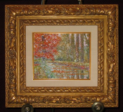 Custom Matting And Unique Picture Frames By Rousseaus Fine Art